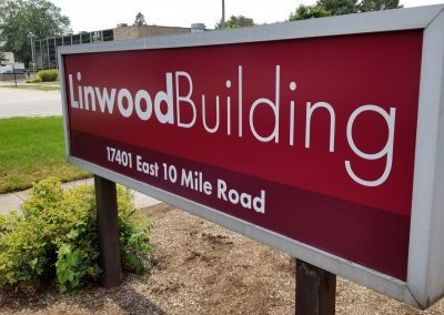 Linwood Building - Sign - After