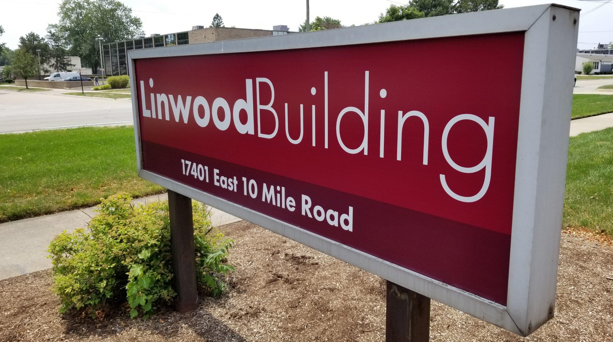 Linwood Building - Sign - After