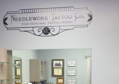 Needlework Tattoo - Wall Graphics - 02