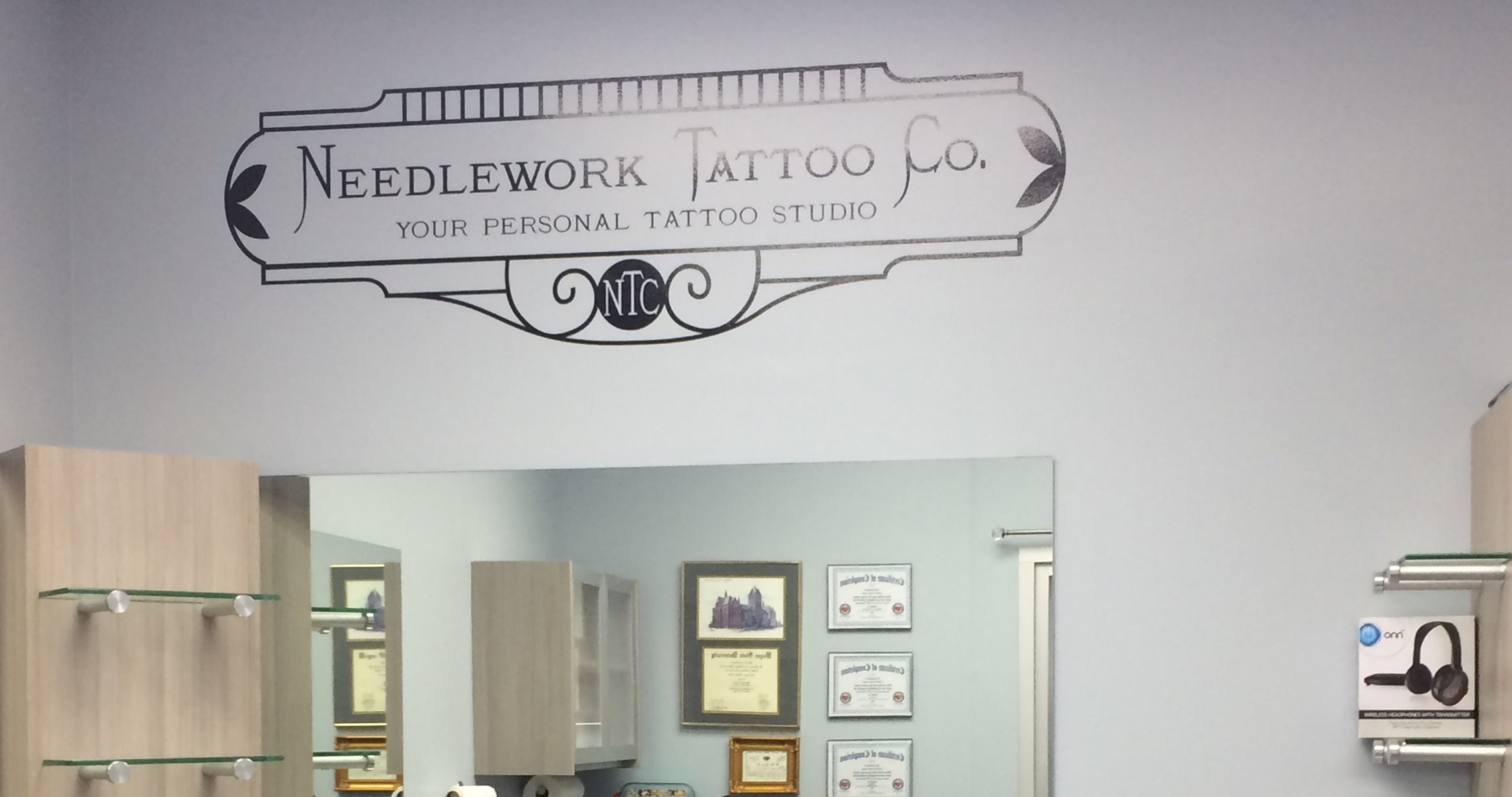 Needlework Tattoo - Wall Graphics - 02