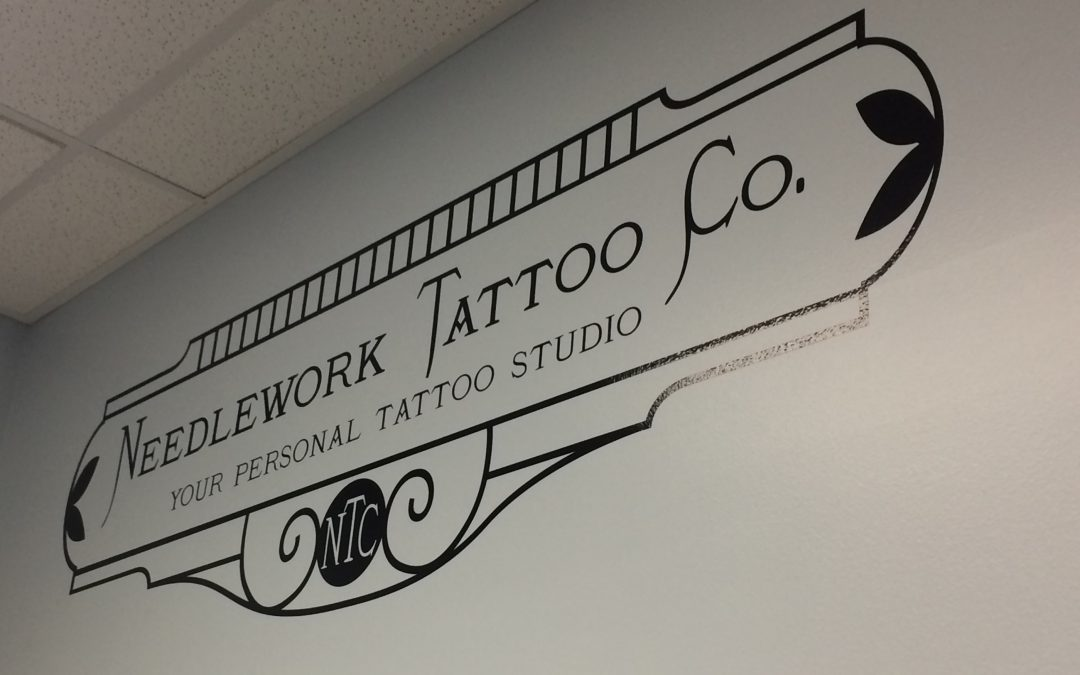 Needlework Tattoo – Wall Graphics