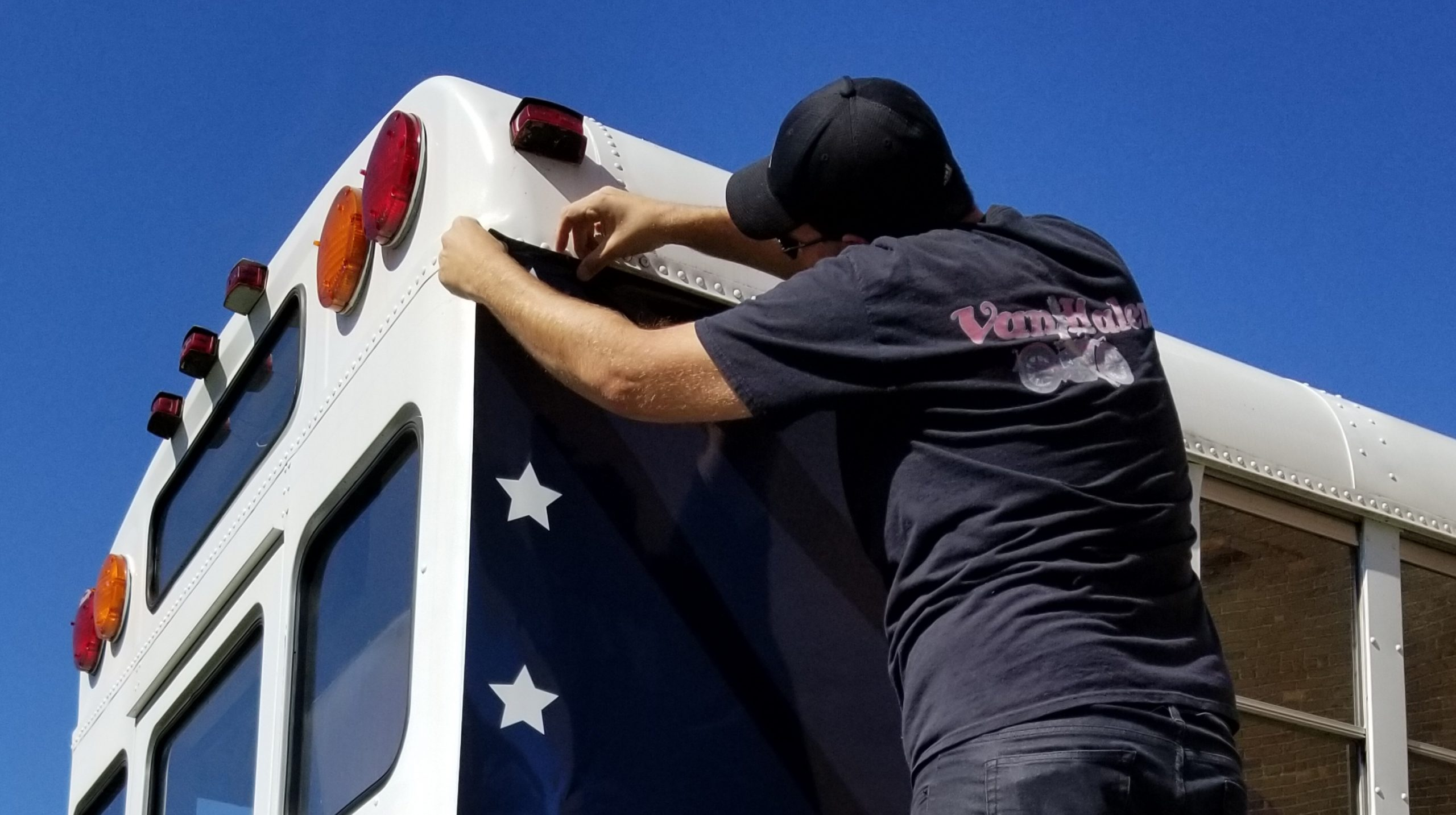 Peacemakers International - Bus Tail Wrap - 05