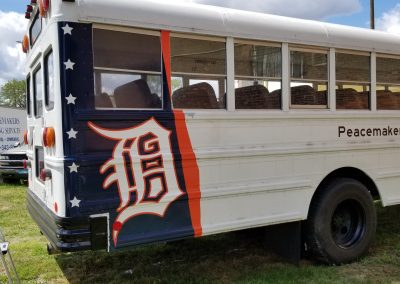 Peacemakers International - Bus Tail Wrap - 10