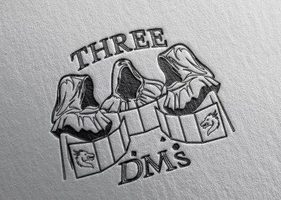 3 DM's Logo