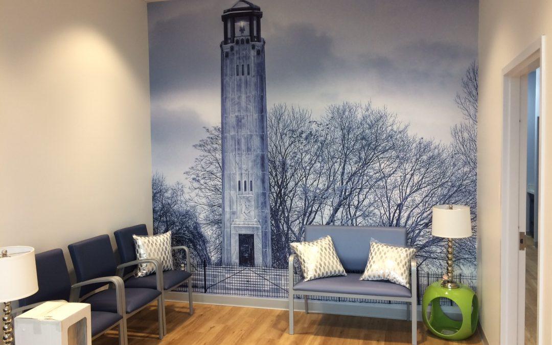 Dental Works Lighthouse Wall Mural