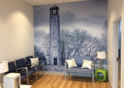 Dental Works Lighthouse Wall Mural