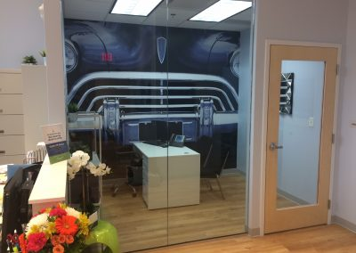 Dental Works Car Wall Mural