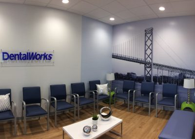 Dental Works Bridge Wall Mural