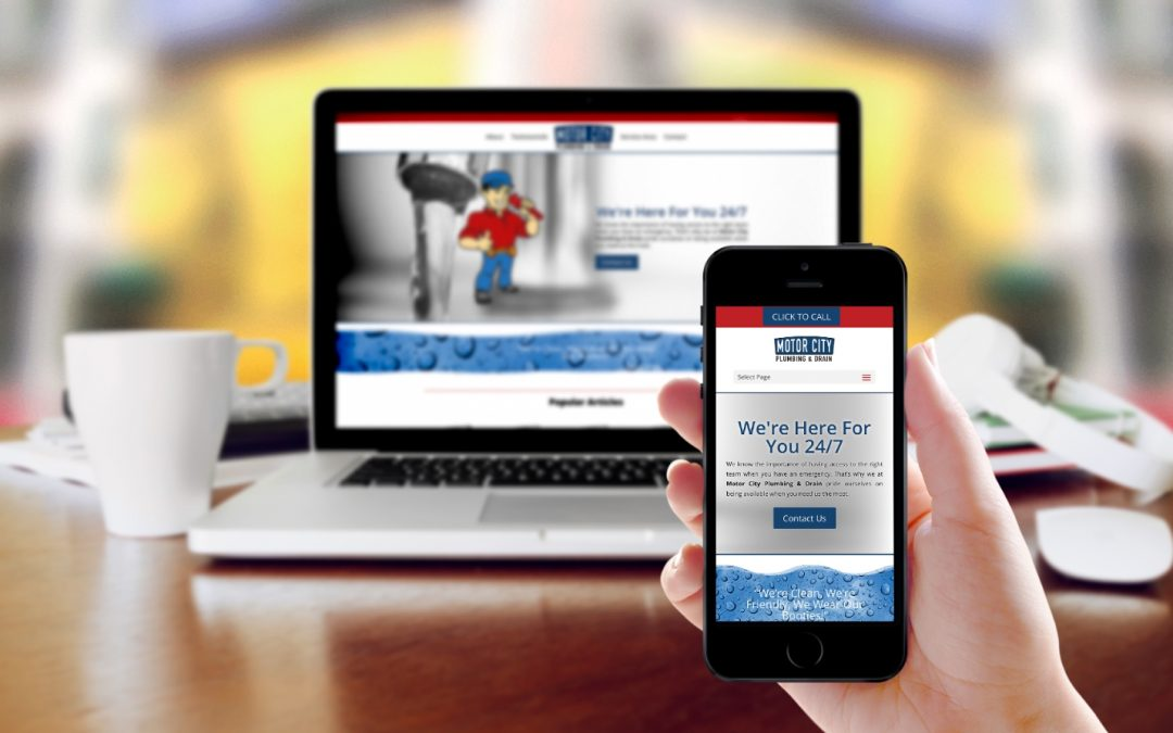 Motor City Plumbing & Drain Website