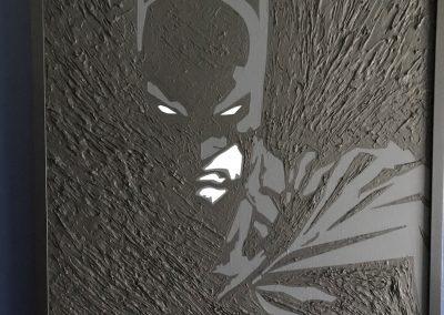 Art by DAK - Batman Panting