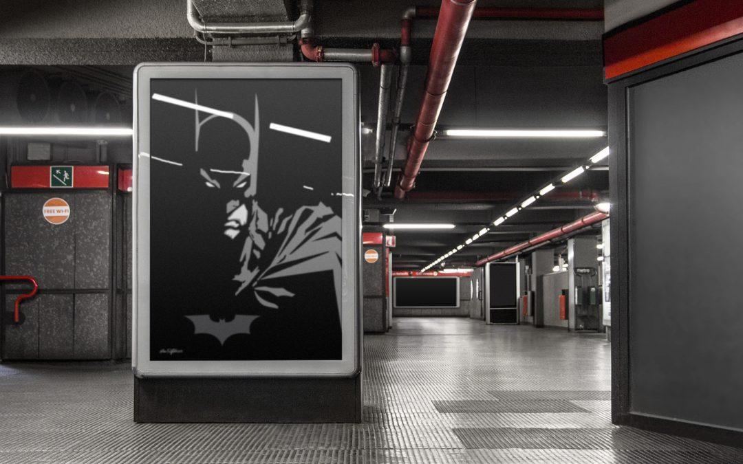 Art by DAK – Vector Batman