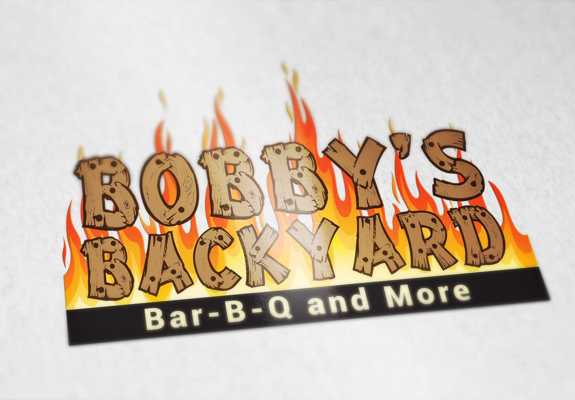 Bobbys Backyard - Logo Concept