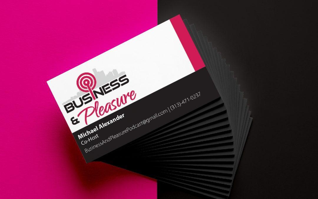 Business & Pleasure Cards