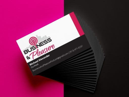 Business & Pleasure Cards