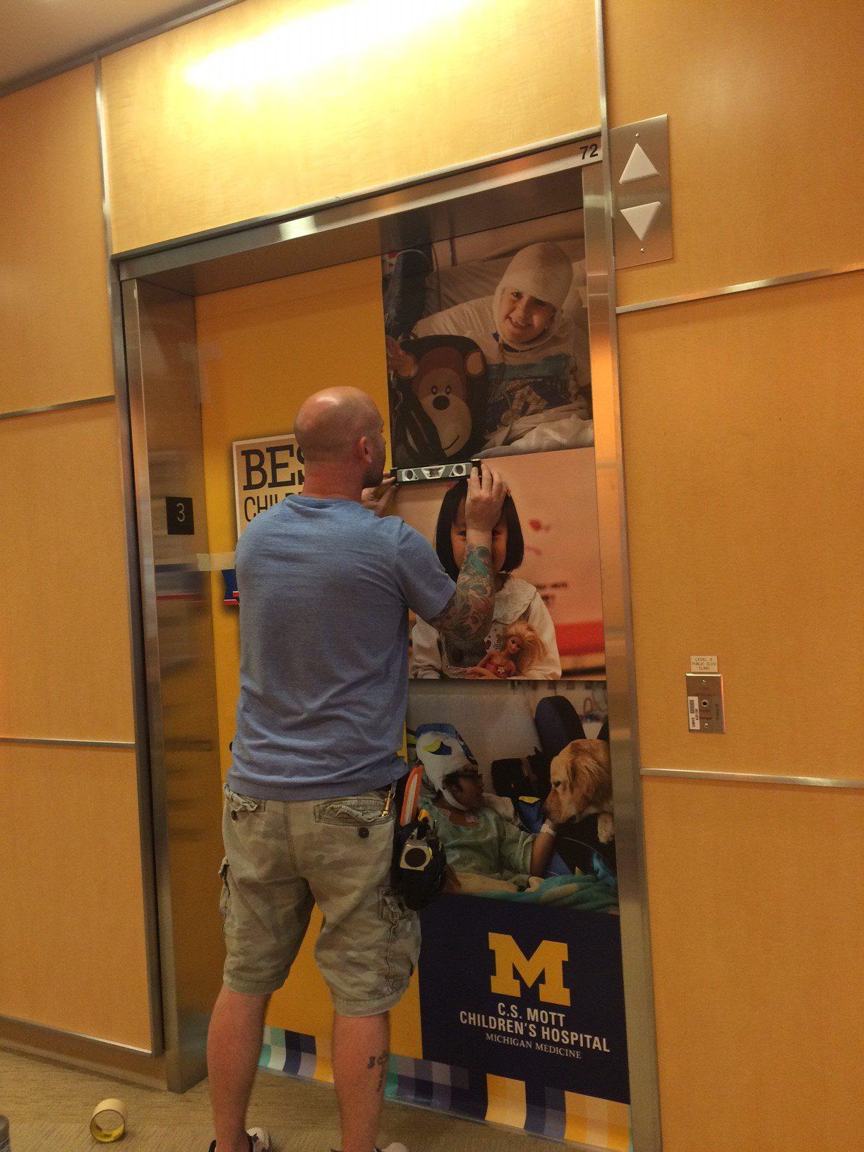 CS Mott Childrens Hospital Elevators - 01