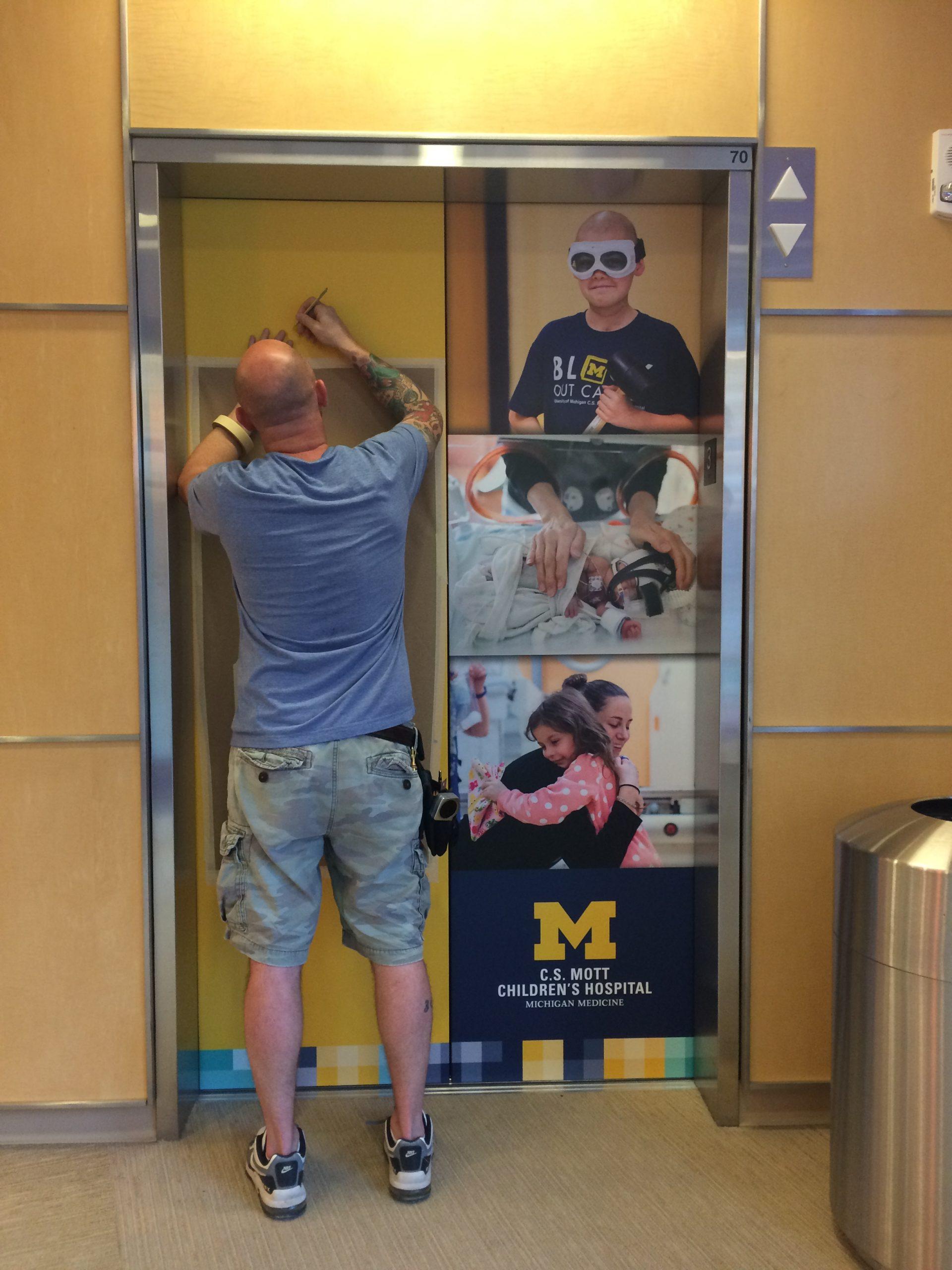 CS Mott Childrens Hospital Elevators - 02