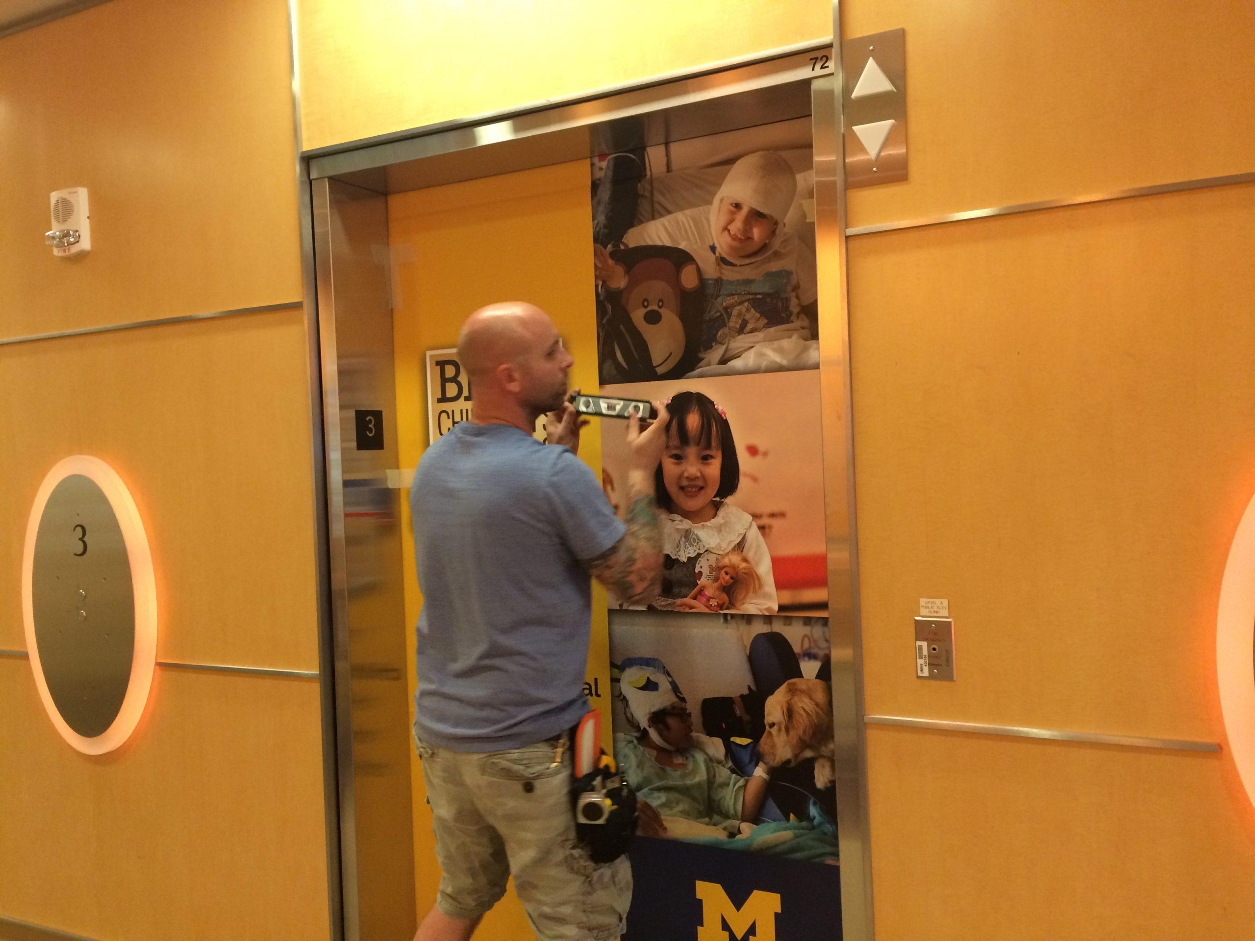 CS Mott Childrens Hospital Elevators - 03