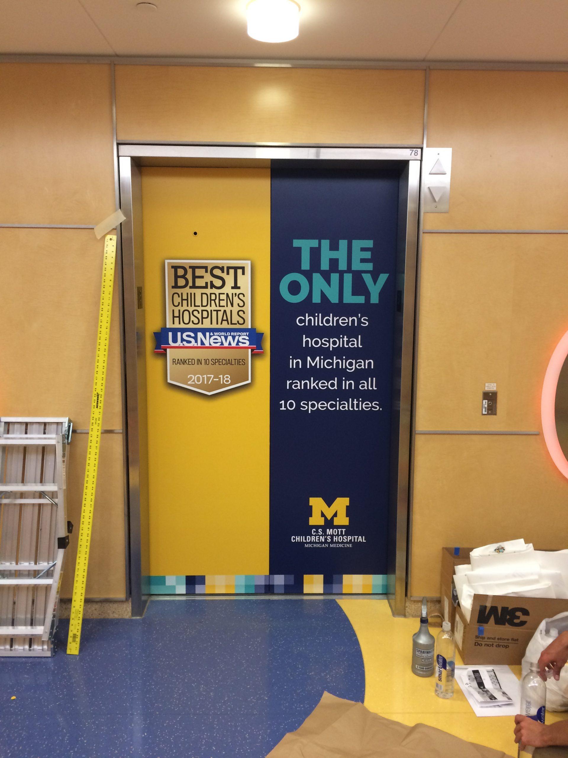 CS Mott Childrens Hospital Elevators - 04