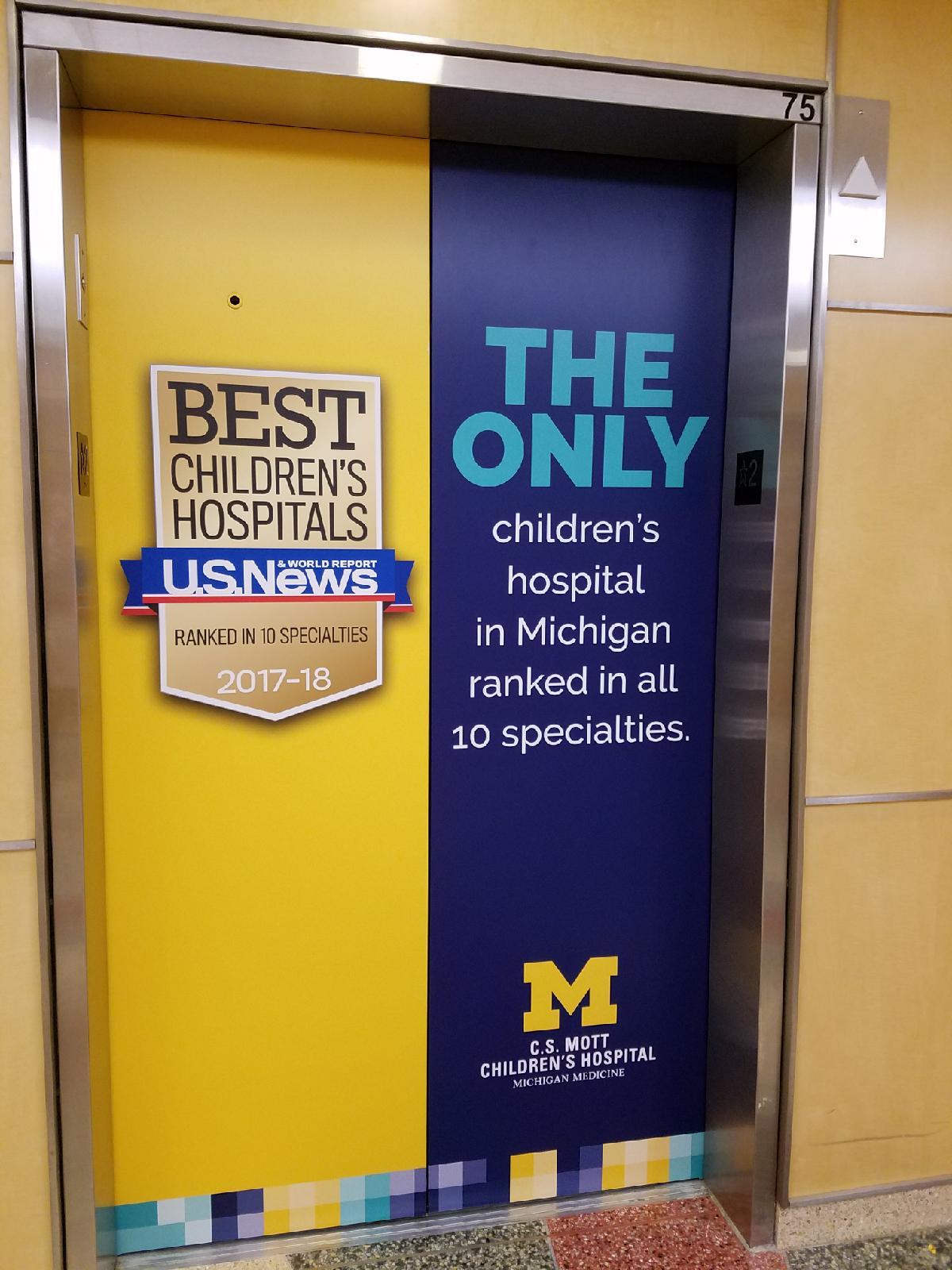 CS Mott Childrens Hospital Elevators - 05