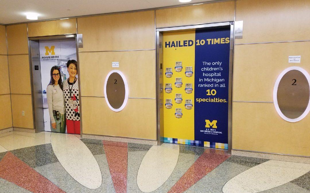 CS Mott Childrens Hospital Elevators