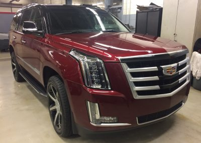 Cadillac Escalade Chrome Delete