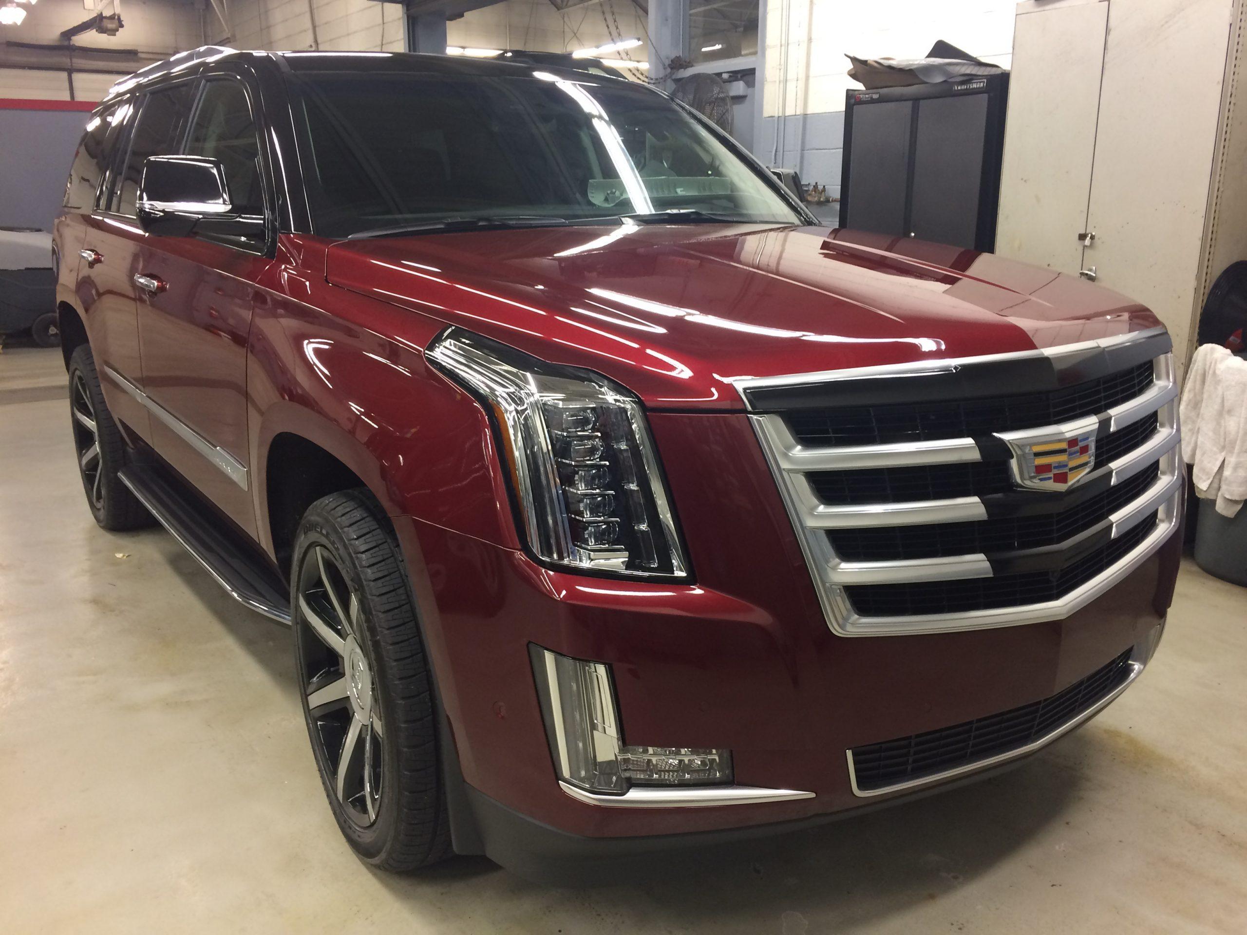 Cadillac Escalade - after