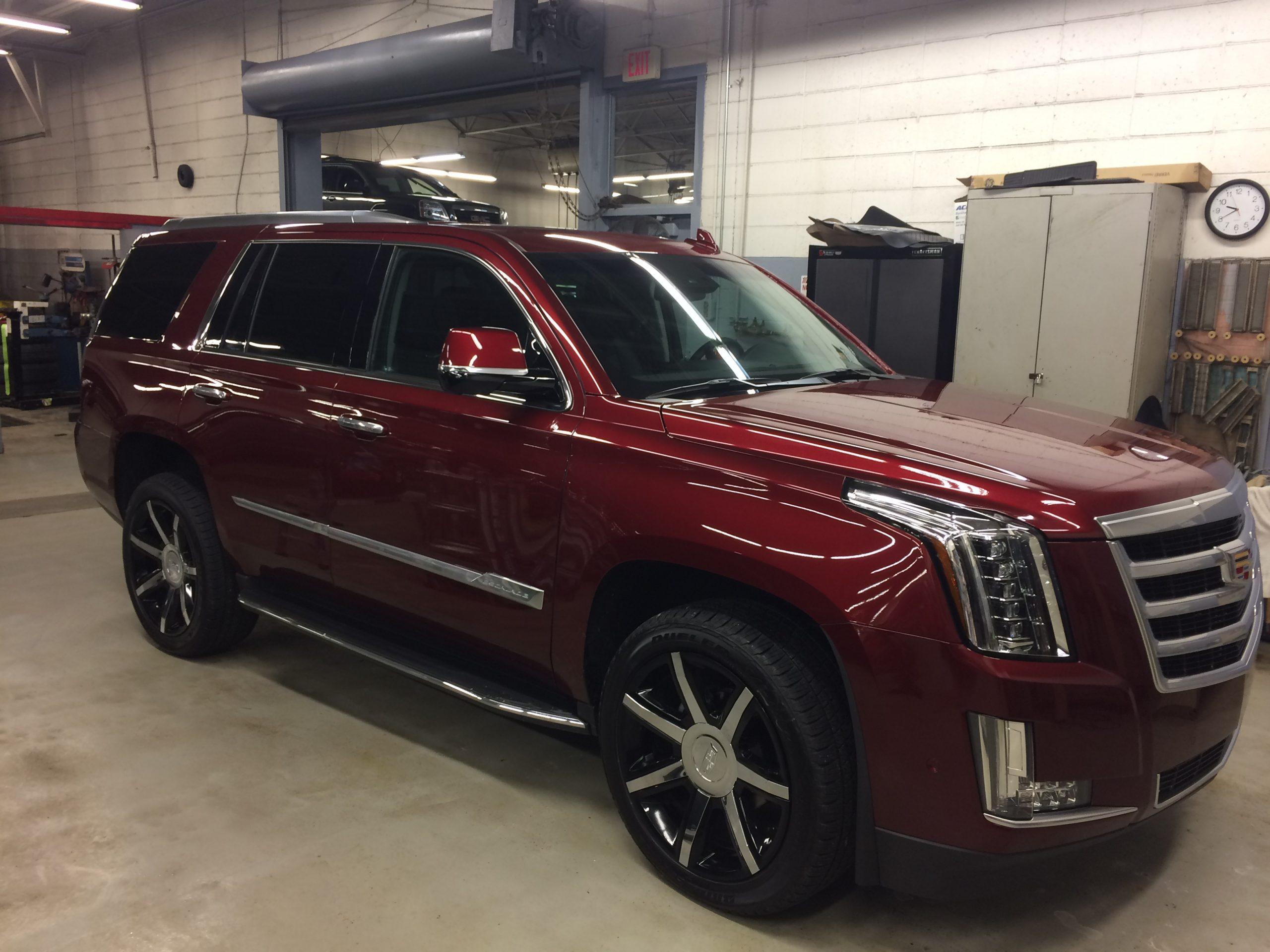 Cadillac Escalade - before