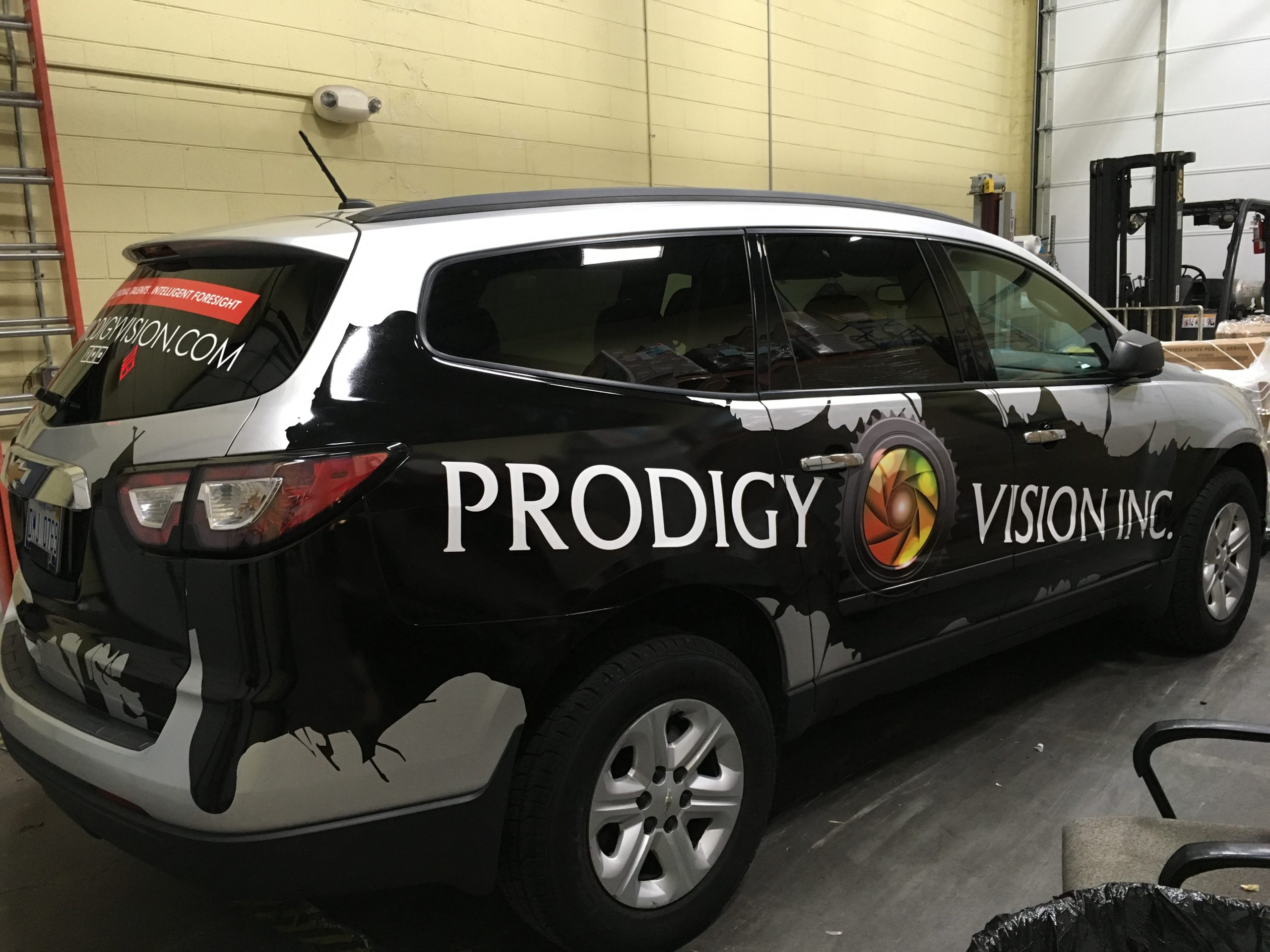 Chevy Traverse Partial Wrap (3)