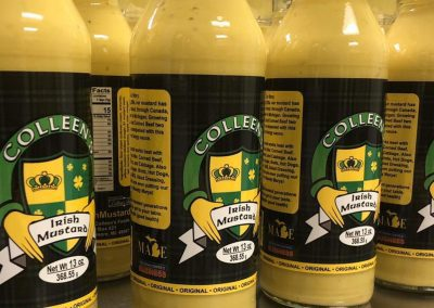 Colleens Irish Mustard - Mustard Label 01