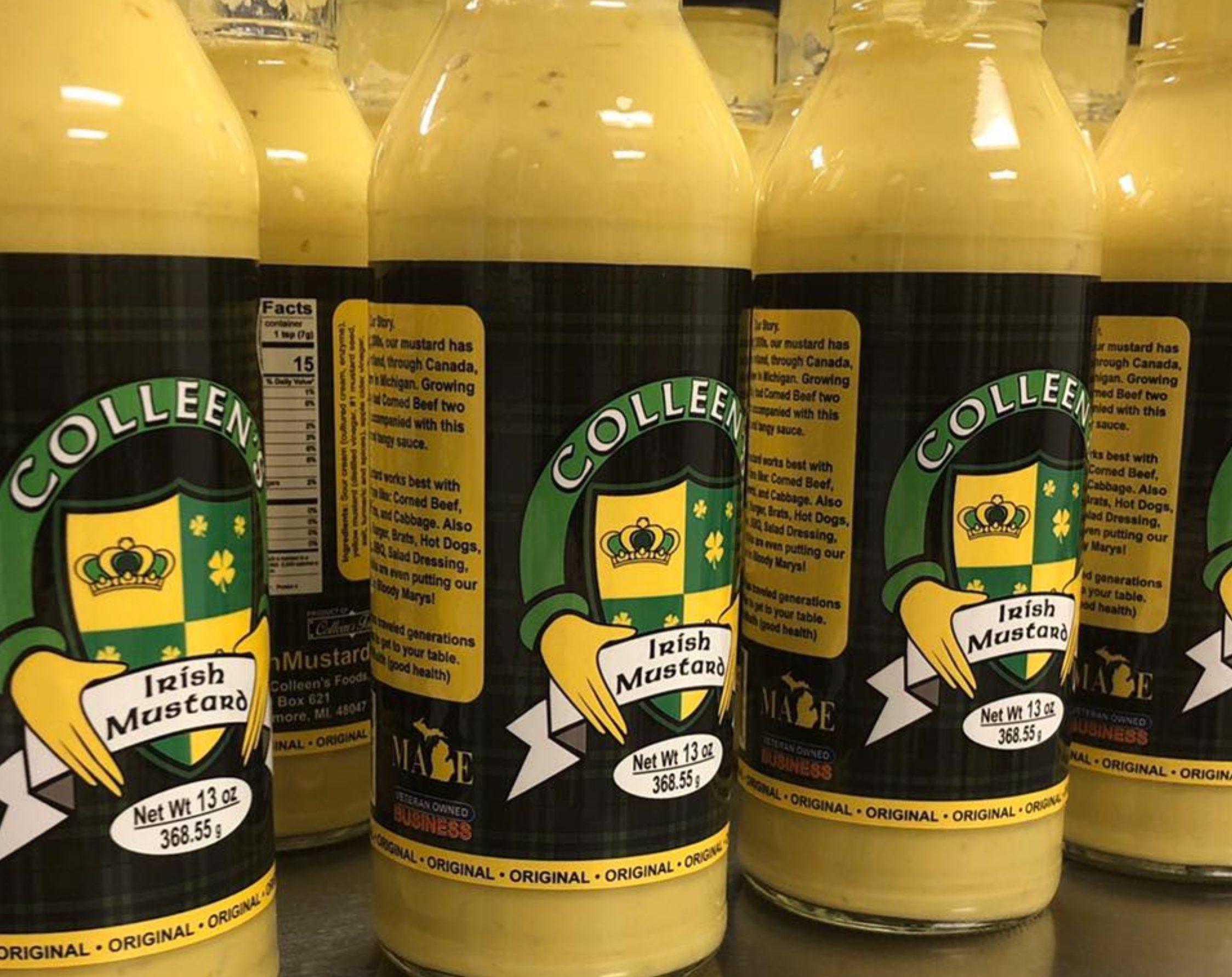 Colleens Irish Mustard - Mustard Label 01