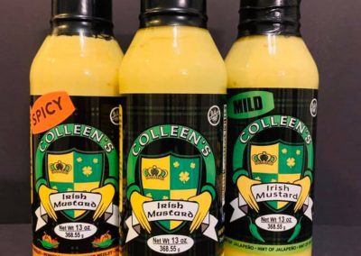 Colleens Irish Mustard - Mustard Label 02