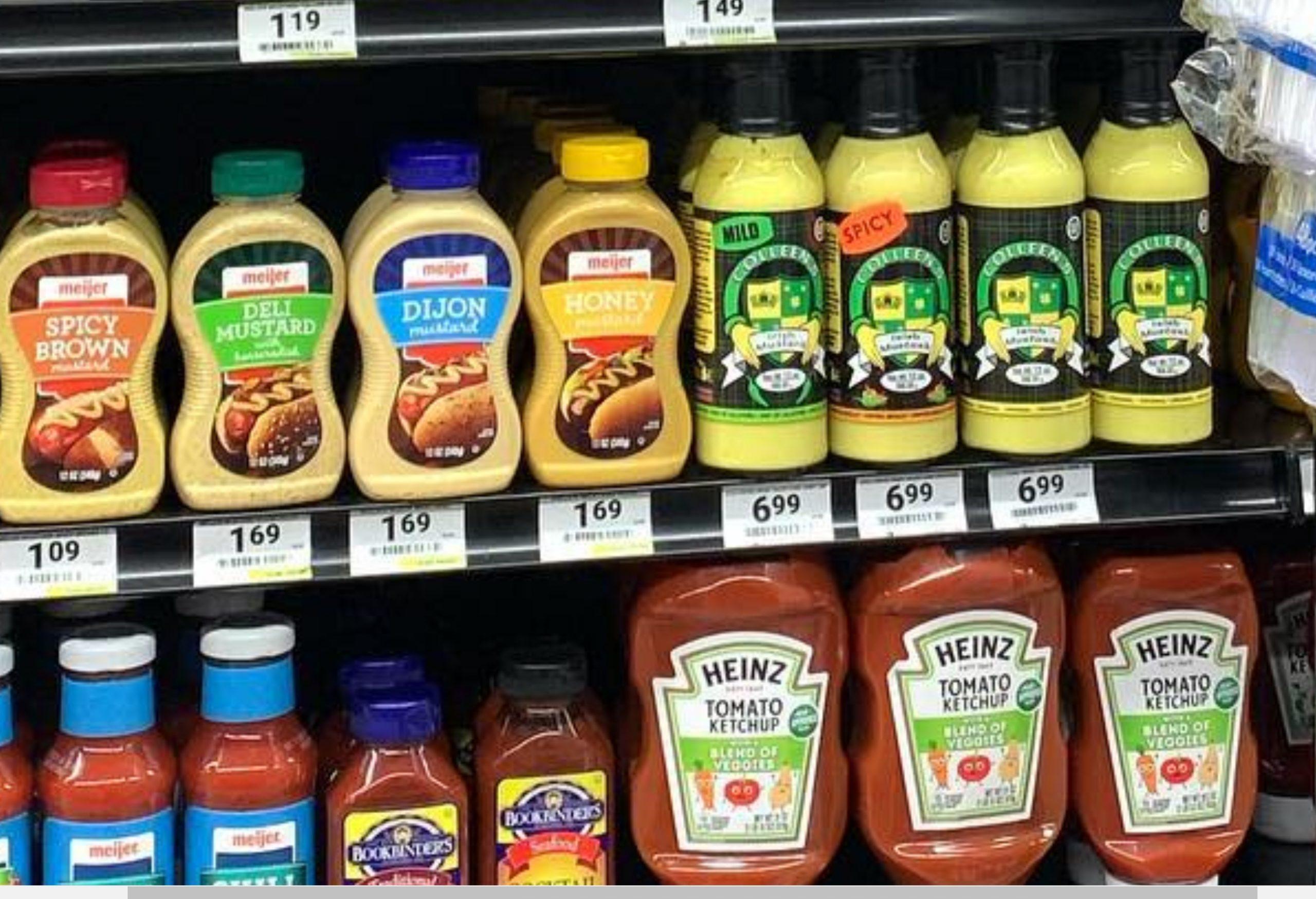 Colleens Irish Mustard - Mustard Label 03