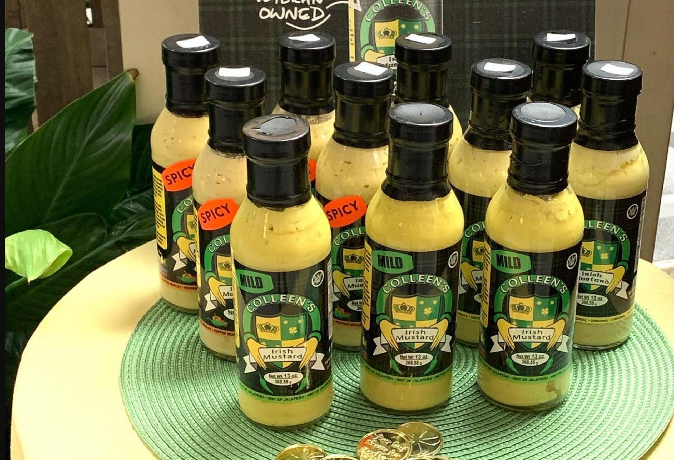 Colleens Irish Mustard - Mustard Label 05