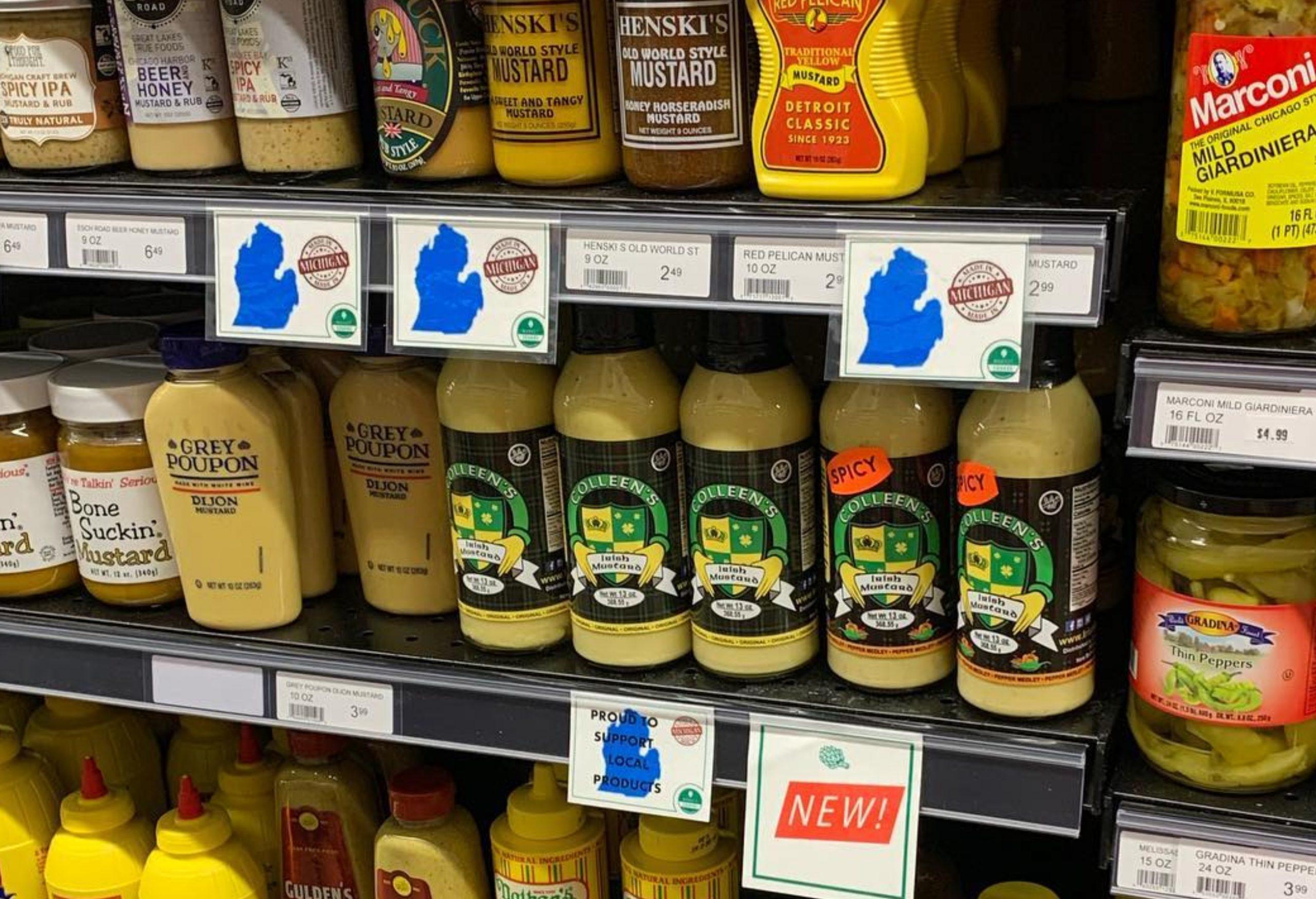 Colleens Irish Mustard - Mustard Label 06