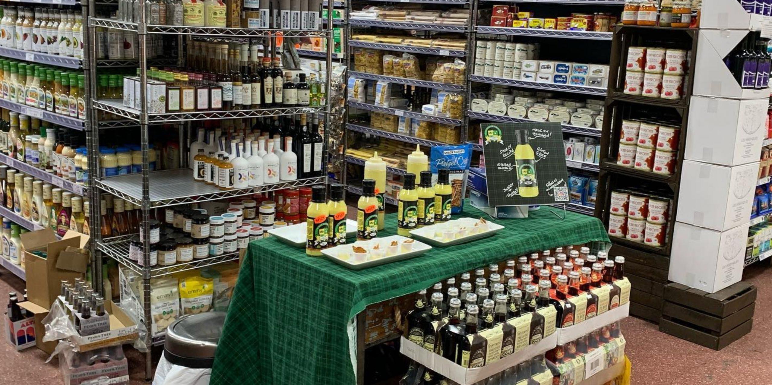 Colleen's Irish Mustard - Shelf Talker 01