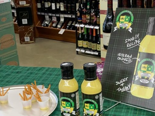 Colleen's Irish Mustard – Shelf Talker