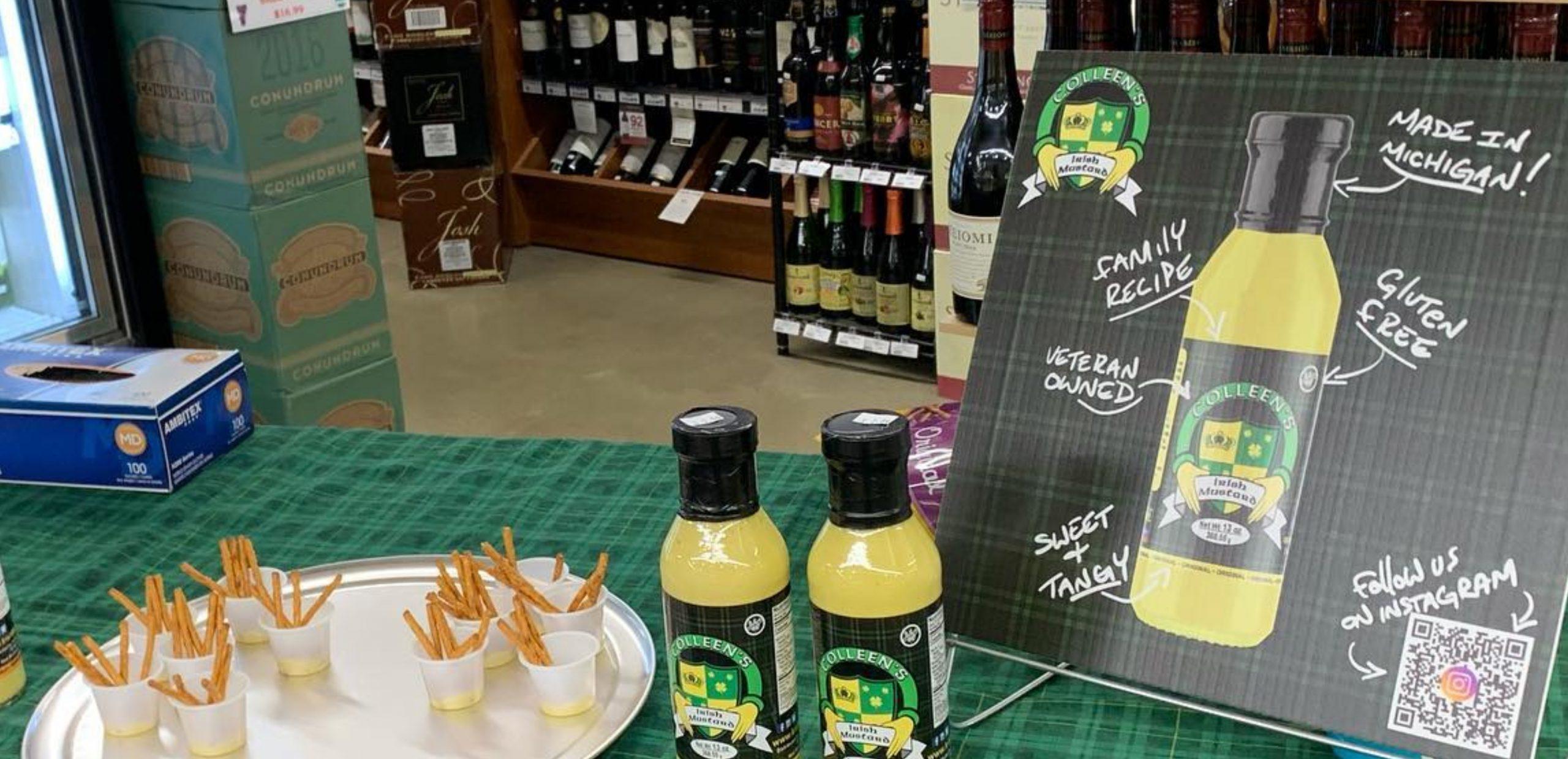Colleen's Irish Mustard - Shelf Talker 02