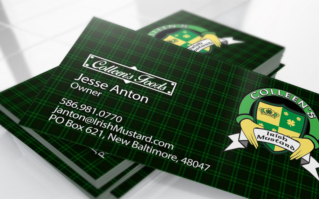Colleens Mustard – Business Cards