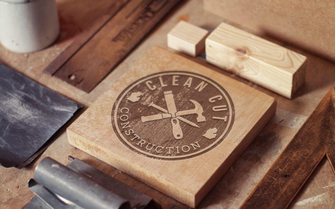 Clean Cut Construction – Logo Design