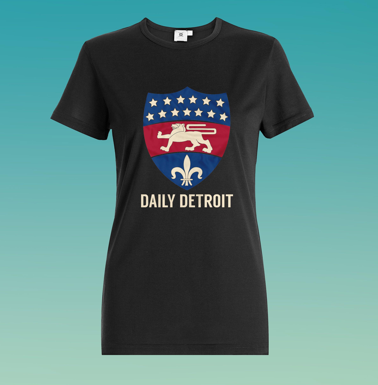 Daily Detroit - Shirt Mockup