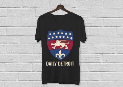 Daily Detroit - Silkscreen Shirt Mockup 01