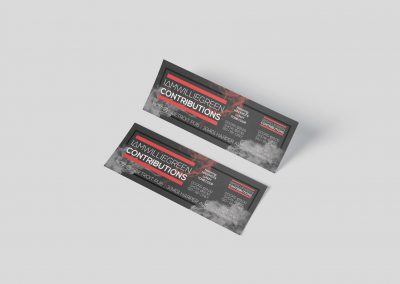 Detroit Pub - Event Tickets with Stub Mockup 01