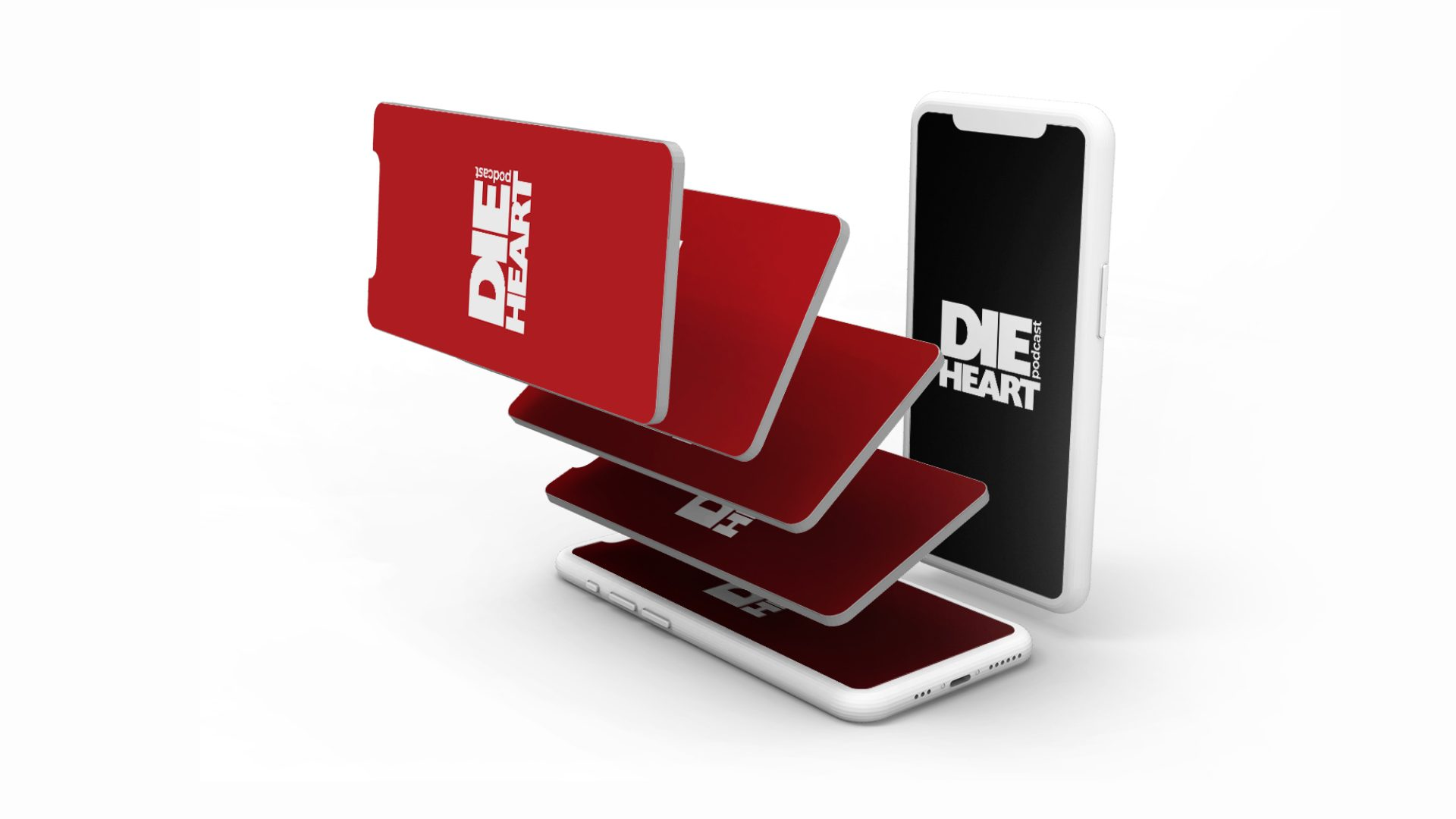 Die Heart Podcast - Logo Design Mockup 02