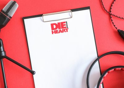 Die Heart Podcast - Logo Design Mockup 03