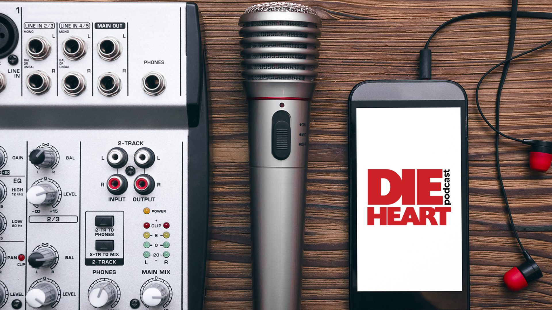 Die Heart Podcast - Logo Design Mockup 04