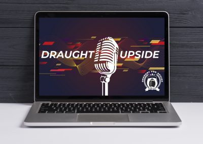 Draught for Upside – Logo Computer Mockup 03