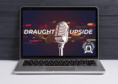 Draught for Upside – Logo Computer Mockup 03