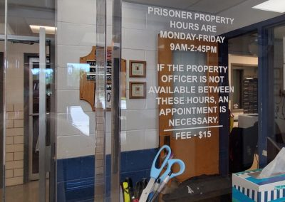 Eastpointe Police - Lobby Signage (2)