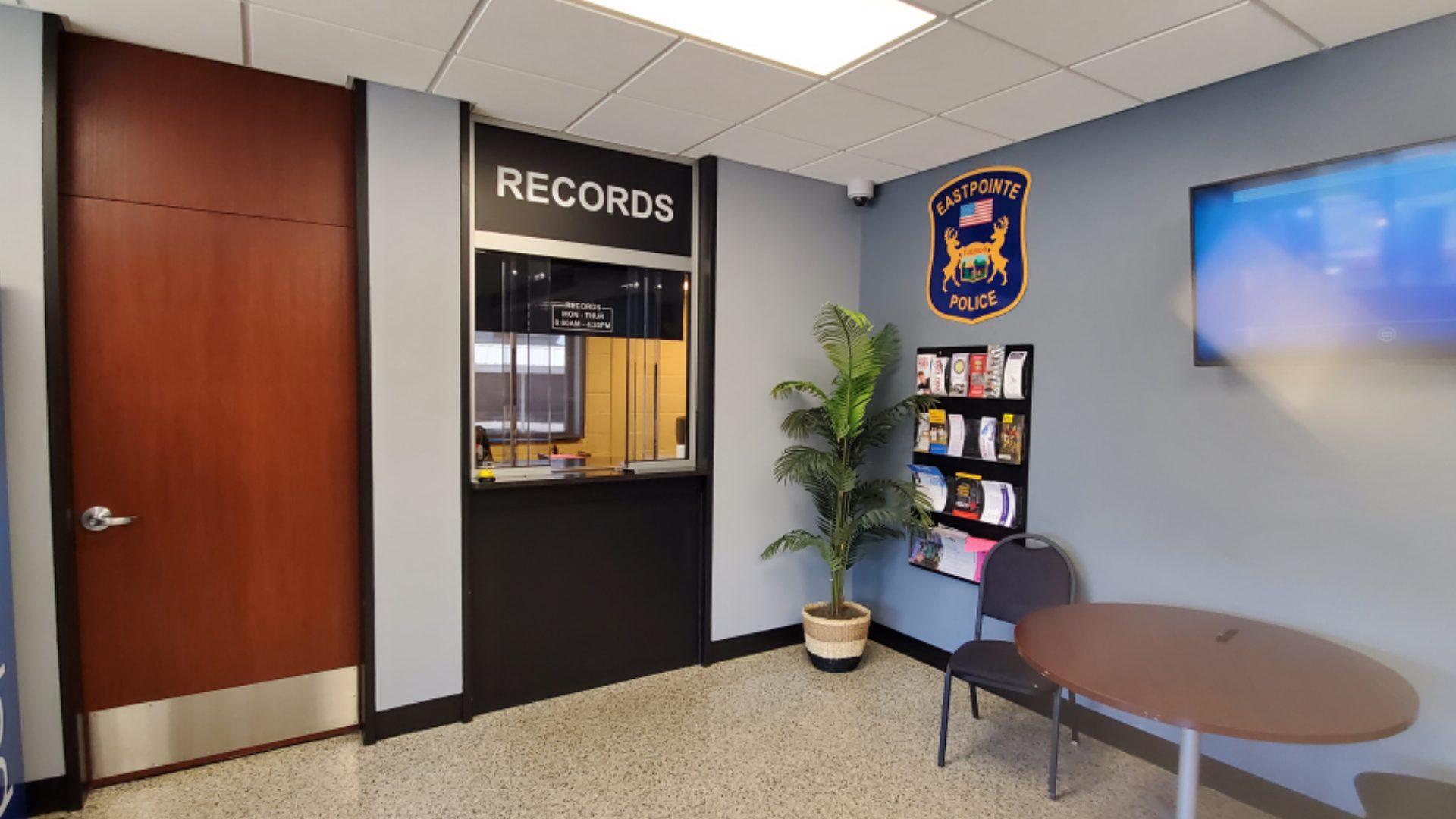 Eastpointe Police - Lobby Signage (5)