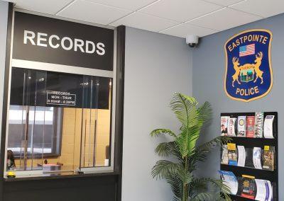 Eastpointe Police - Lobby Signage (7)